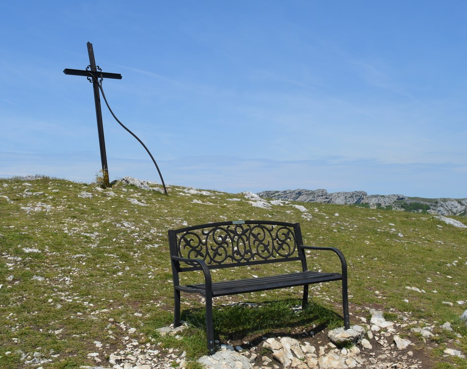 banc de fer de la Croix d'Ambel (c) Frédérique Gelas