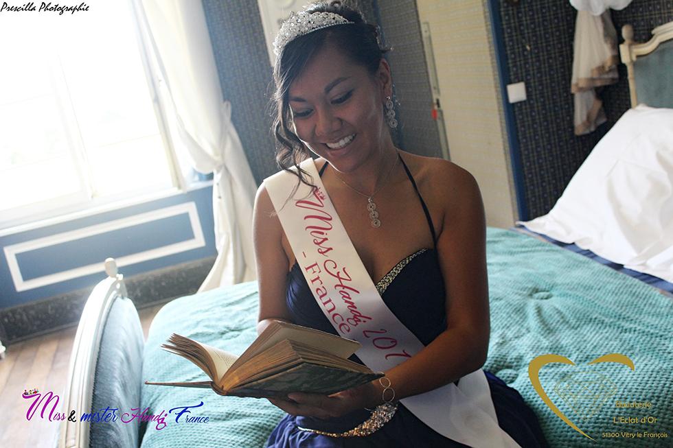 Portrait d'une Miss engagée. Photo (c) Prescilla Diot