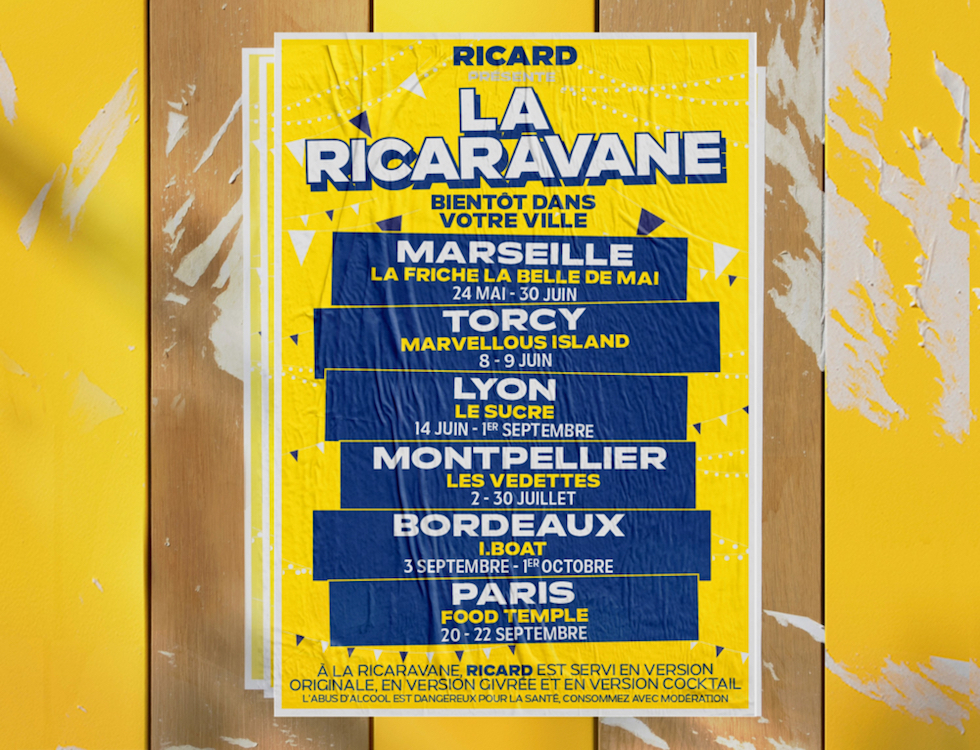 La Ricaravane : direction Montpellier !