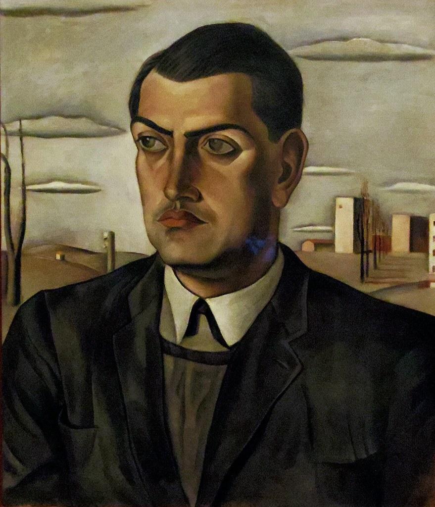 Portrait de Luis Bunuel par Salvador Dali,1924, Huile sur toile, 70 x 60 cm, Musée national centre d'art Reina Sofia, Madrid