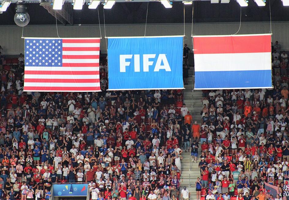 Tous les voyants de la FIFA sont au vert à l'issue de cette coupe du monde. Photo (c) Serge Gloumeaud
