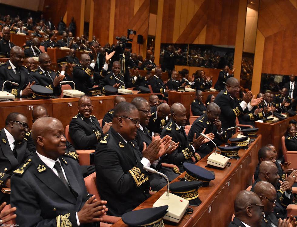Le corps préfectoral rencontre le Président de la République le 12 avril 2018 à Yamoussoukro (c) Pref Abidjan