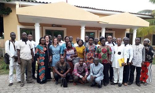 Photo de famille des participants à l'atelier (c) DR