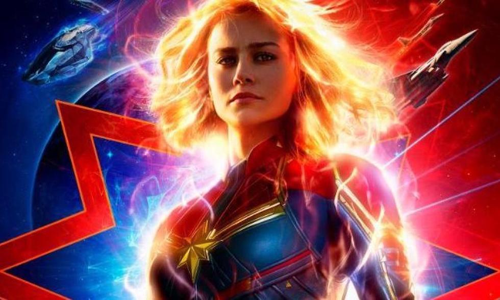 Captain Marvel ou l'univers marvel au féminin. Image : Marvel Studios