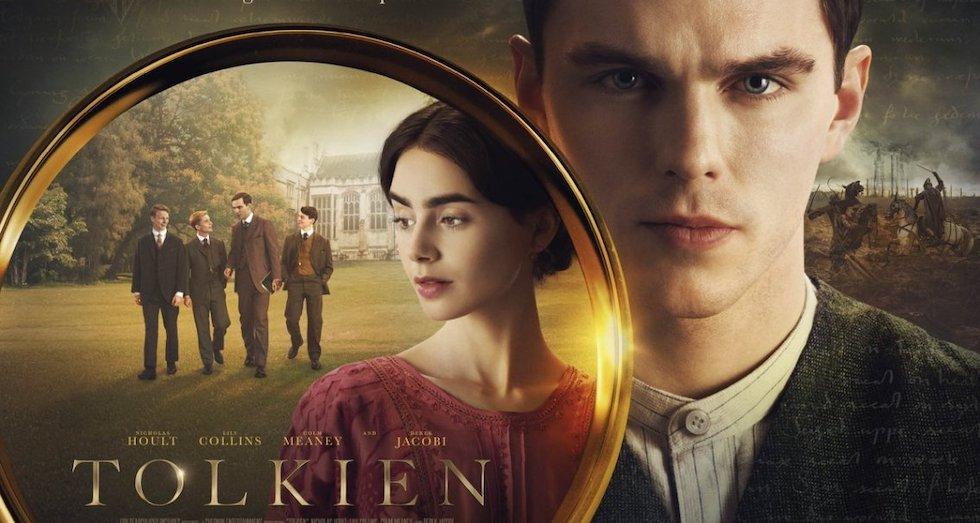 Ainsi naquit l'œuvre de JRR Tolkien. Image : Affiche du film