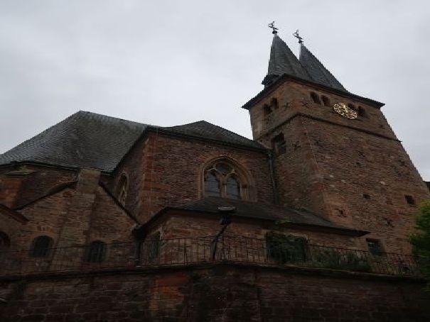 L'église de Saarburg Photo (C) Diana YT