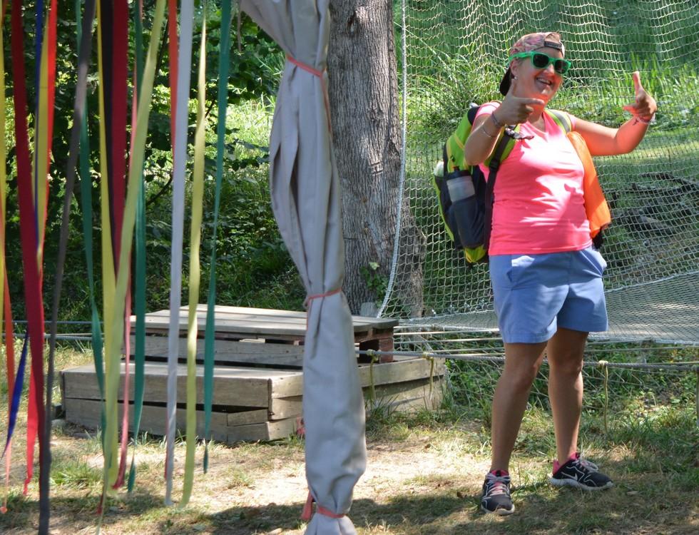 Caroline Borel, directrice du centre de loisirs (c) Frédérique Gelas