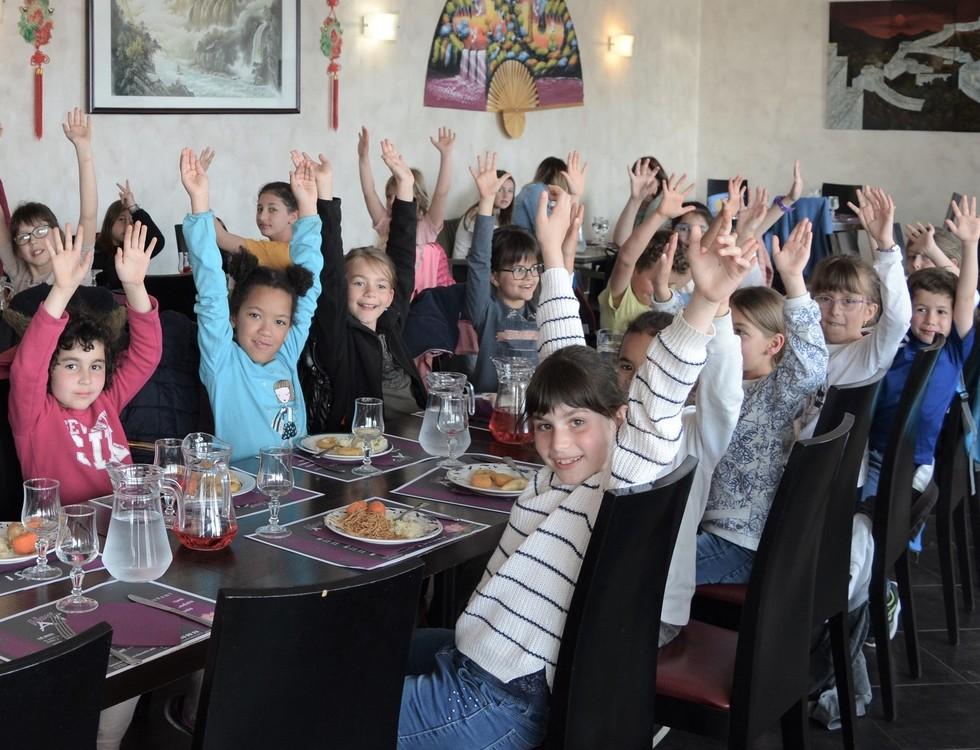 Pause gourmande au restaurant chinois (c) Frédérique Gelas