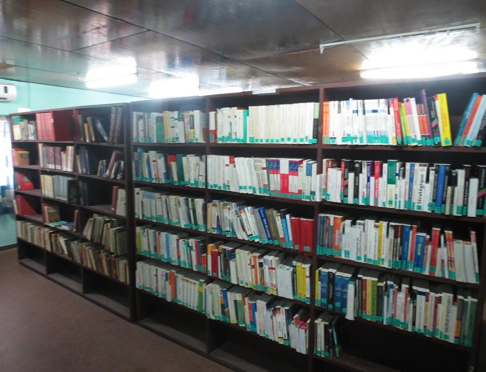 Un apercu d'une bibliothèque scolaire en Afrique.(c) ucaouua