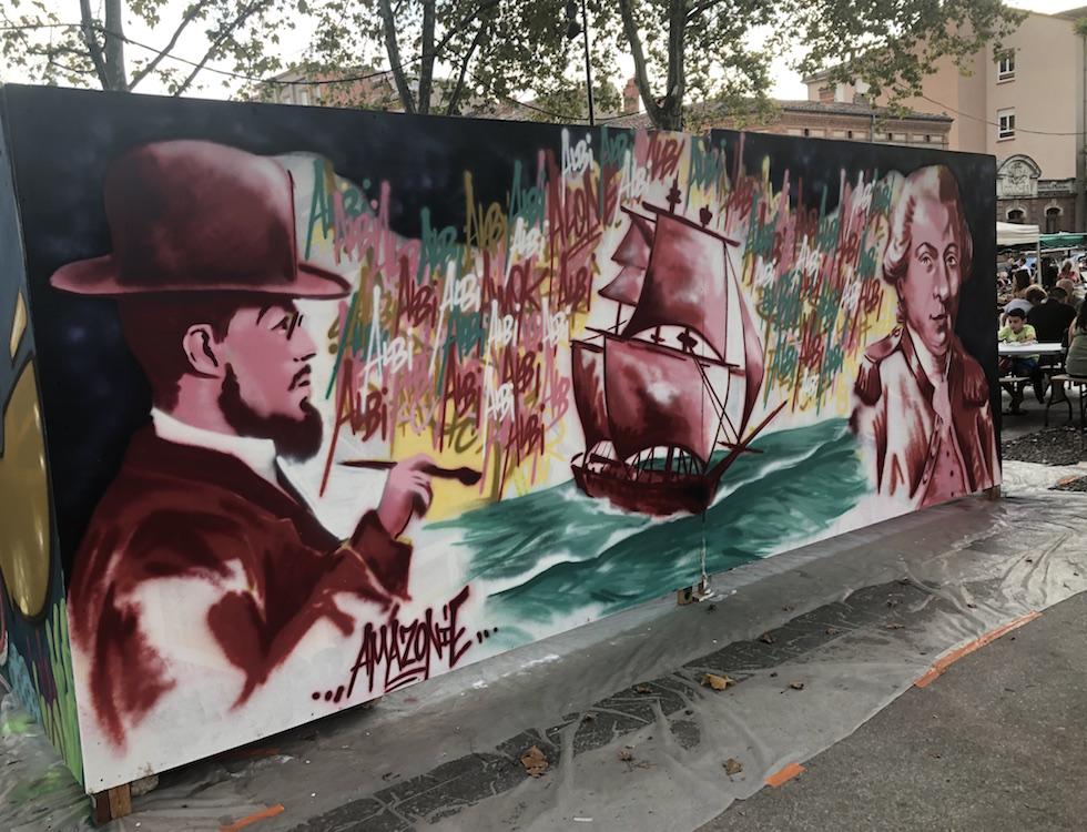 Graffiti par Amazonie (c) Olesya Arsenieva