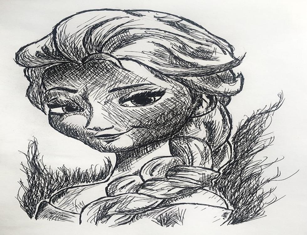 Le plus grand succès du box-office en 2013, La Reine des Neiges va faire son retour sur grand écran en novembre prochain. (C) Illustration par Džoko Stach