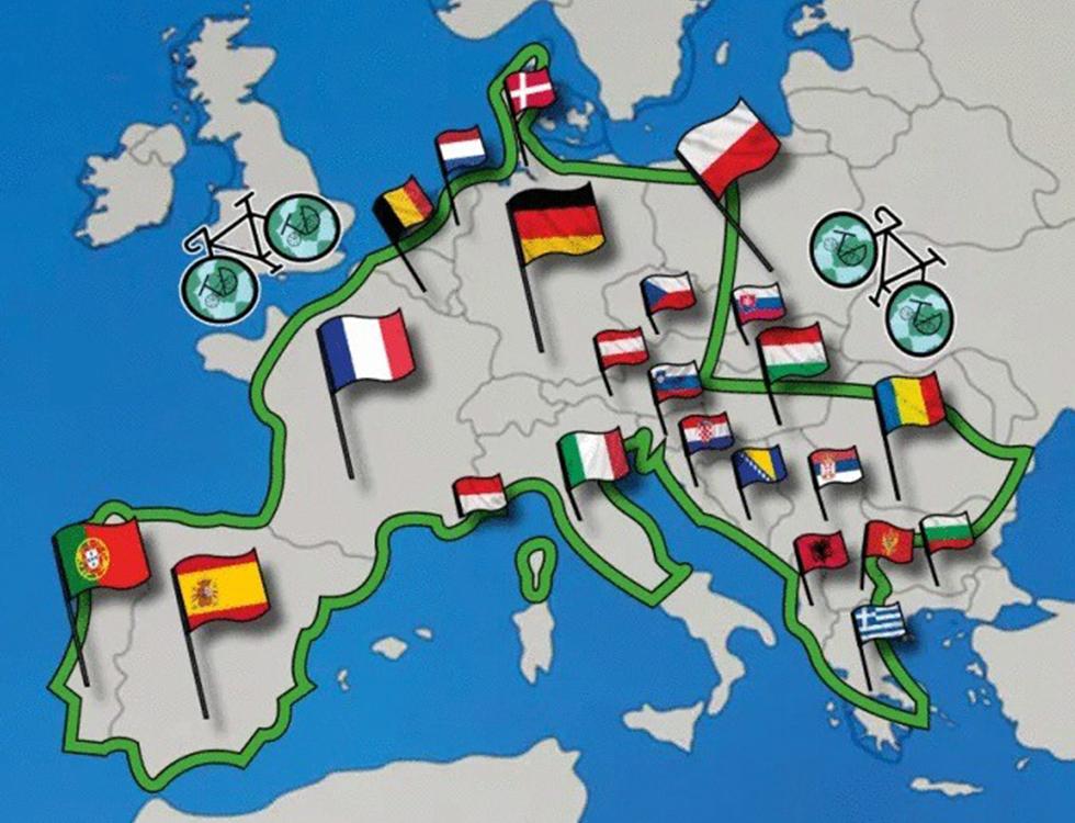 """""""En selle, Tanguy!"""", une boucle européenne de 16.000 km © Tanguy Davy"""