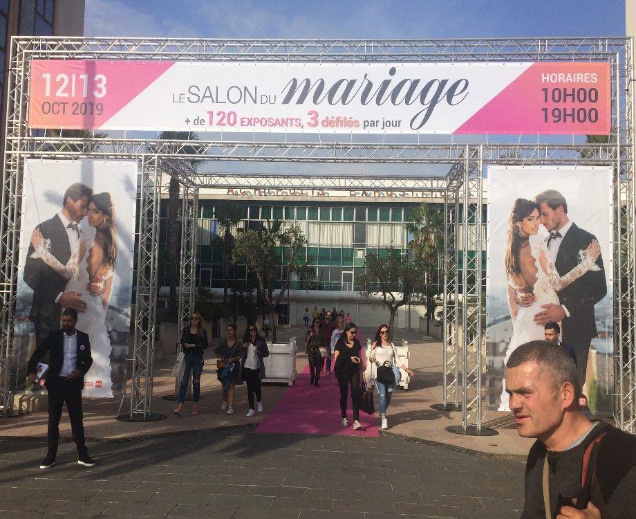Le salon du mariage à Nice s'est tenu le 12 et 13 octobre dernier (c) Pascale Luissint
