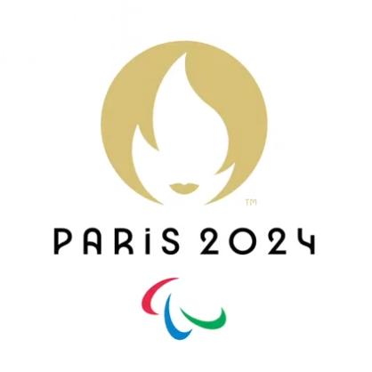 Le logo Paris 2024 publié sur le compte Twitter officiel de l'événement (c) @Paris2024