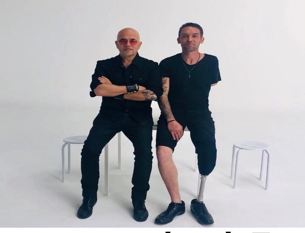 Nicolas Lacambre et Pascal Obispo © Nicolas Lacambre