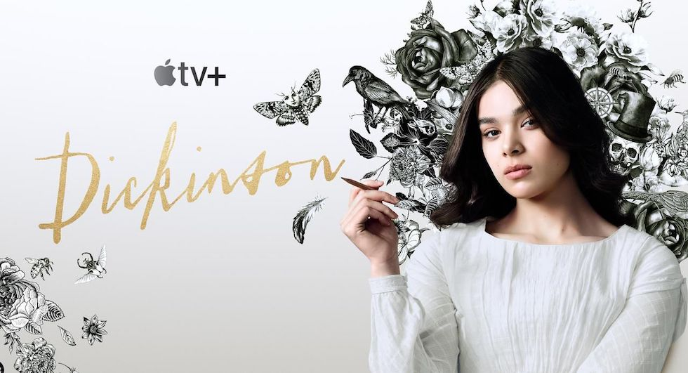 Énergique Emily Dickinson incarnée par la remarquable Hailee Steinfeld.  Photo : Apple TV Plus