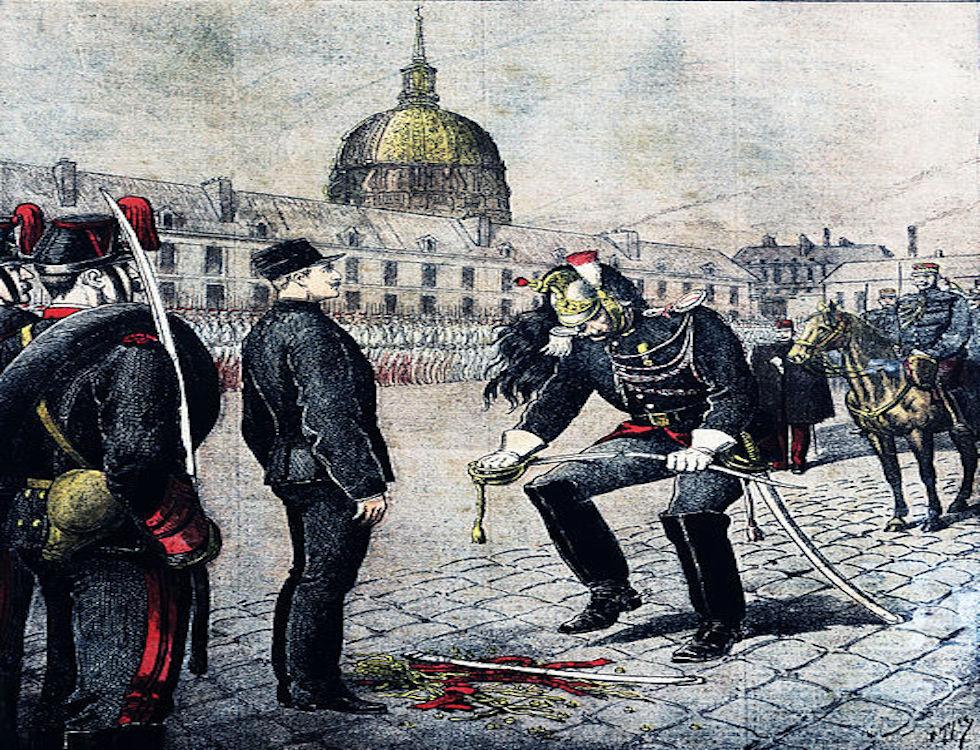 Dégradation d'Albert Dreyfus © Henry Meyer