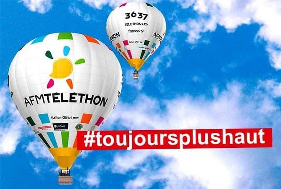 Pour cette année 2019, le thème du Téléthon, c'est la hauteur #toujoursplushaut © AFM-Téléthon