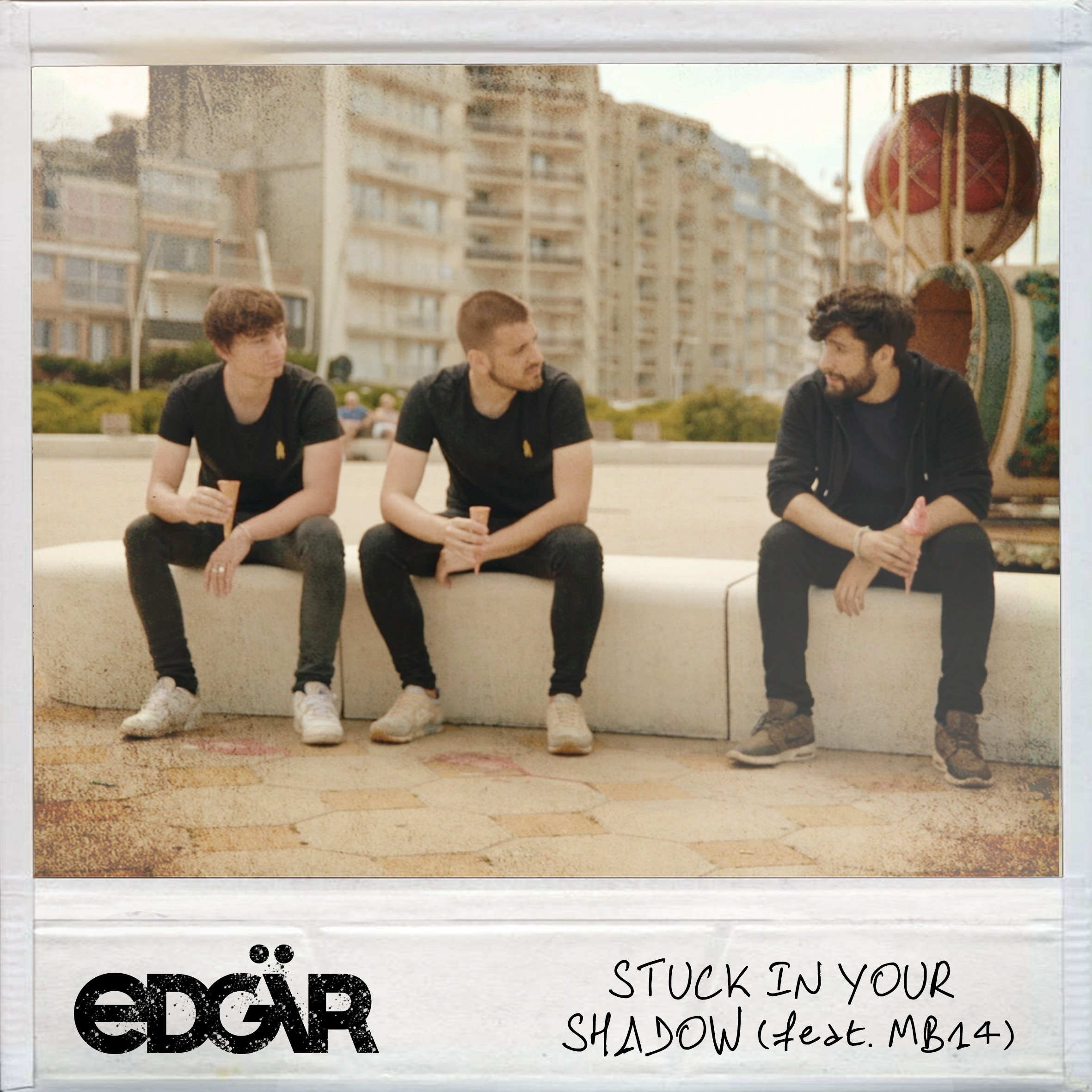"Cover du nouveau single d'Edgar ""Stuck in your shadow"" © Edgär"