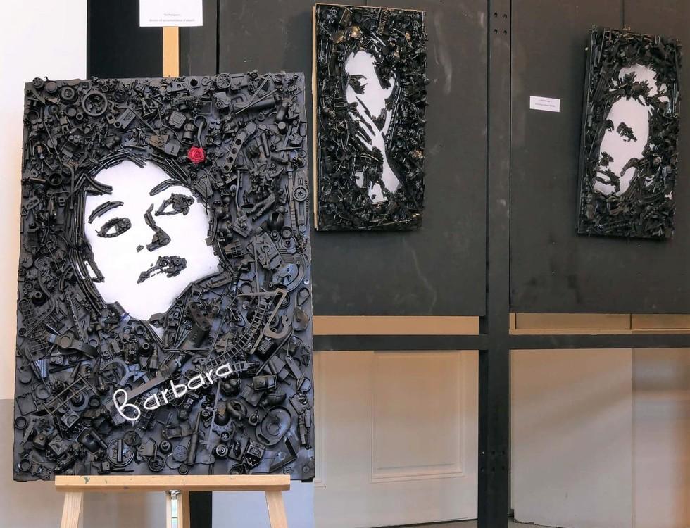 Portraits d'artistes (c) Sébastien Bietrix