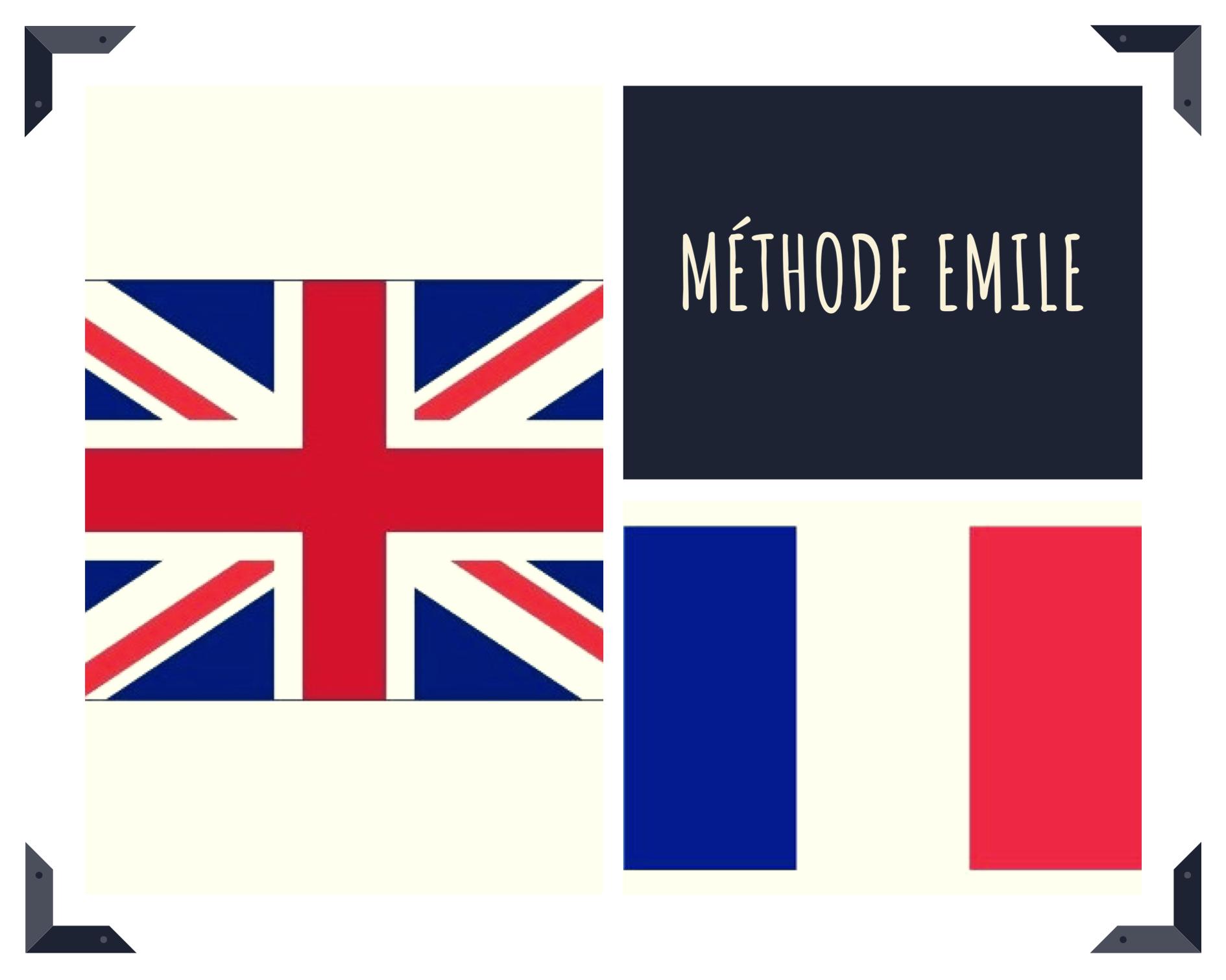 La méthode EMILE (Enseignement d'une Matière par l'Intégration d'une Langue Etrangère). (c) Nouria Anseur.