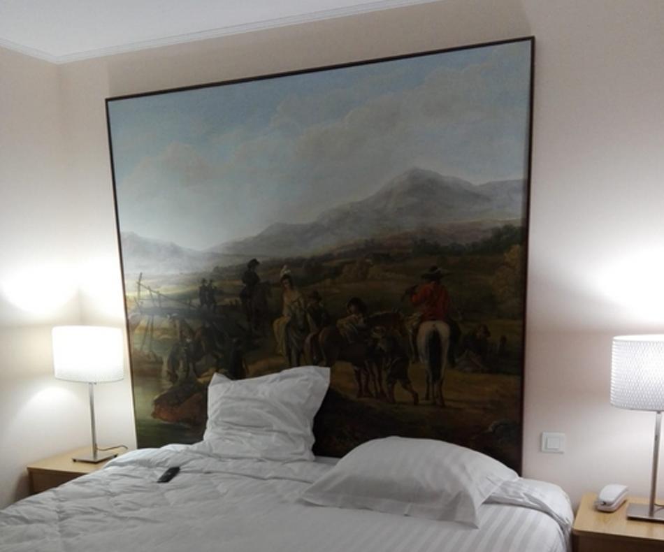 Exemple d'une suite à l'hôtel du château de Sedan / (c) E.V.