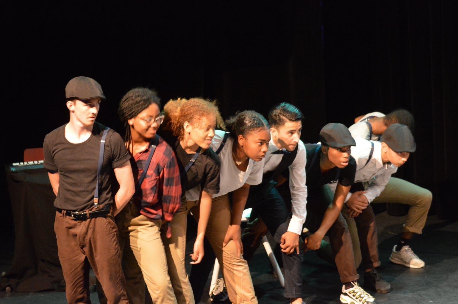 """L'association est à l'origine d'Opéra Street, un spectacle """"pour faire changer les mentalités"""" (c) Marwa Bouchkara"""