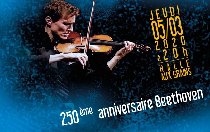 Affiche du concert du 05/03/20 à la Halle aux grains de Toulouse © Fondation Toulouse Santé