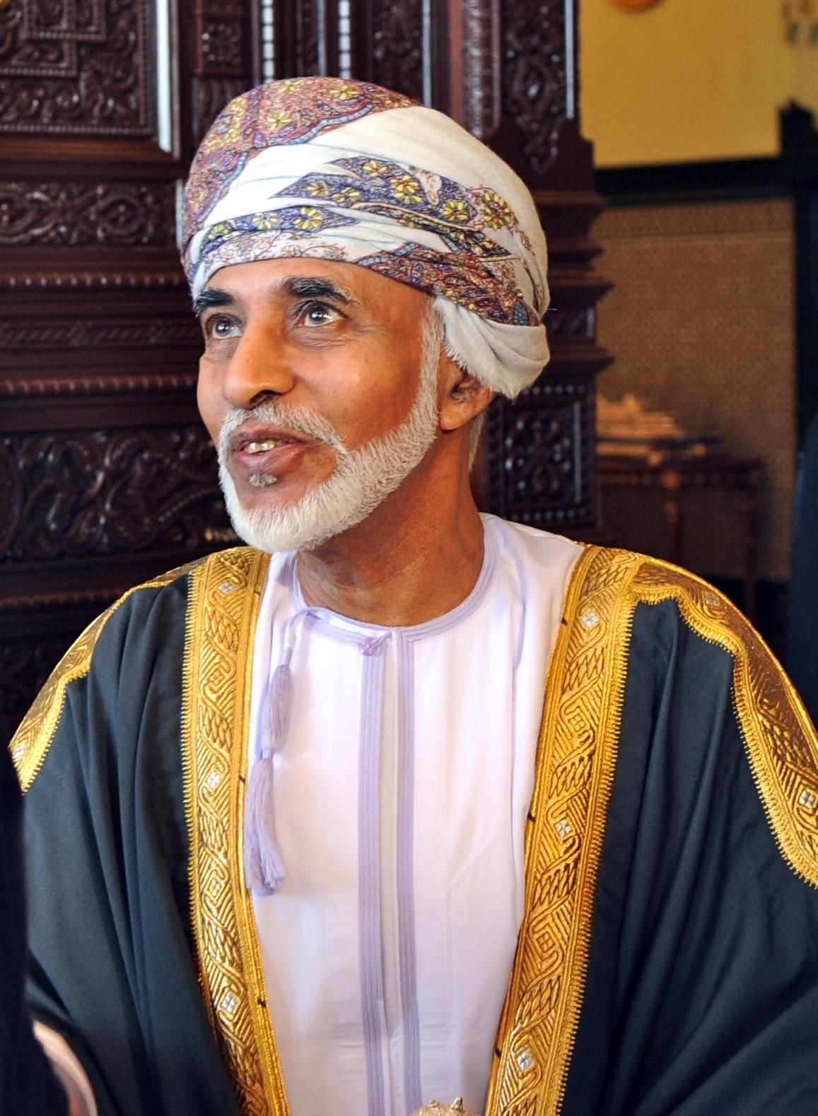 Qabous ben Saïd régnait depuis 1970 sur Oman (c) DR