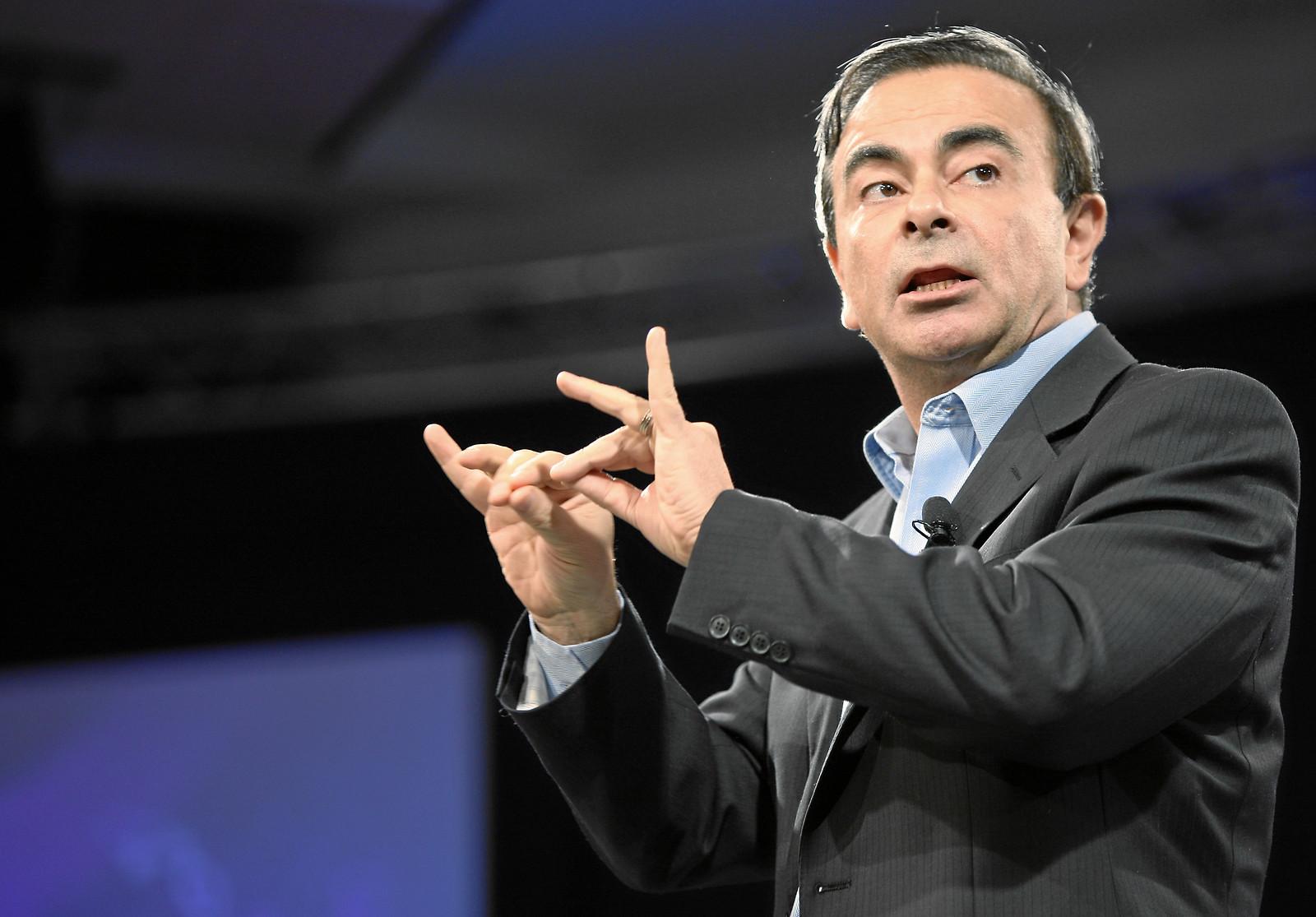 Carlos Ghosn tire les ficelles d'une communication bien huilée. Mais comment son message est-il perçu au Japon ? ©Flickr