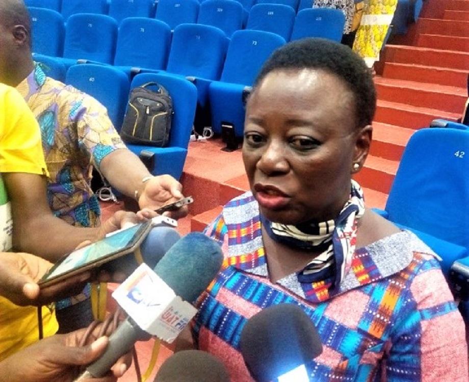 """""""Les partis politiques vont présenter des têtes de liste de femmes dans les localités où ils sont sûrs qu'ils ne vont pas avoir d'élu."""" dixit la député Kadidia Zongo. (c) A.Tapsoba"""