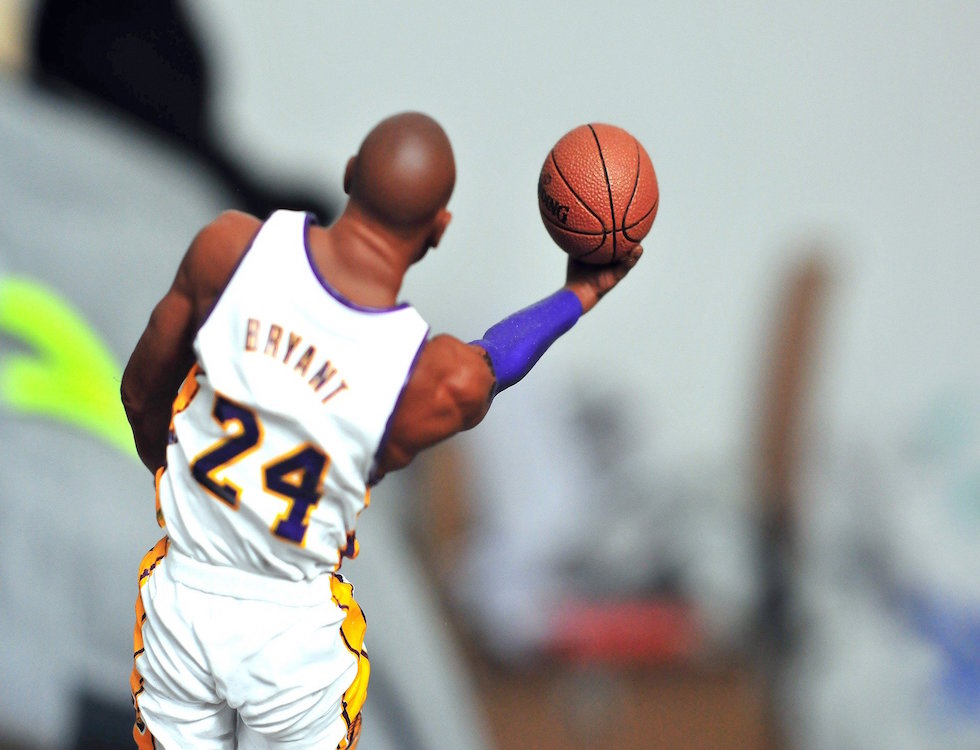 Kobe Bryant avec les Lakers © tookapik, Pixabay
