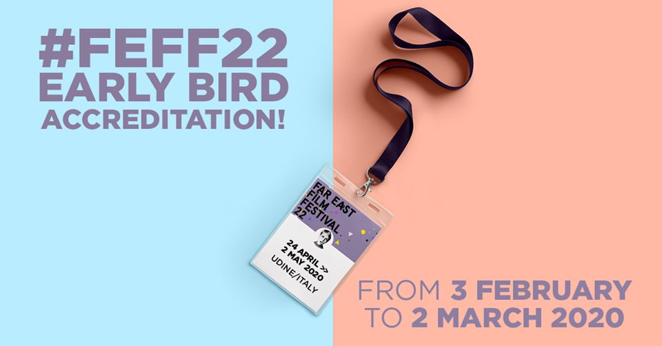 Les billets pour l'édition du Far East Festival 2020 sont disponibles du 3 février au 2 mars. (c)Udine Far East Film