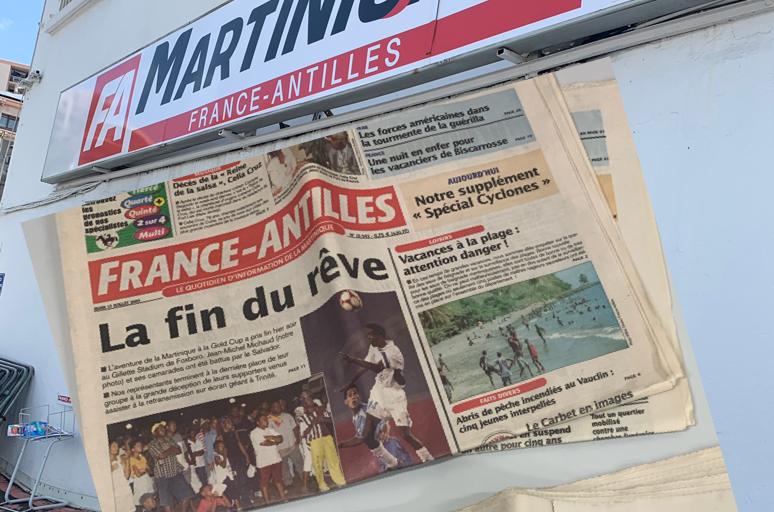 Le tribunal mixte de commerce de Fort-de-France l'a décidé :  il n'y aura plus aucune édition du journal dès le 30 janvier. (c) Nouria Anseur.