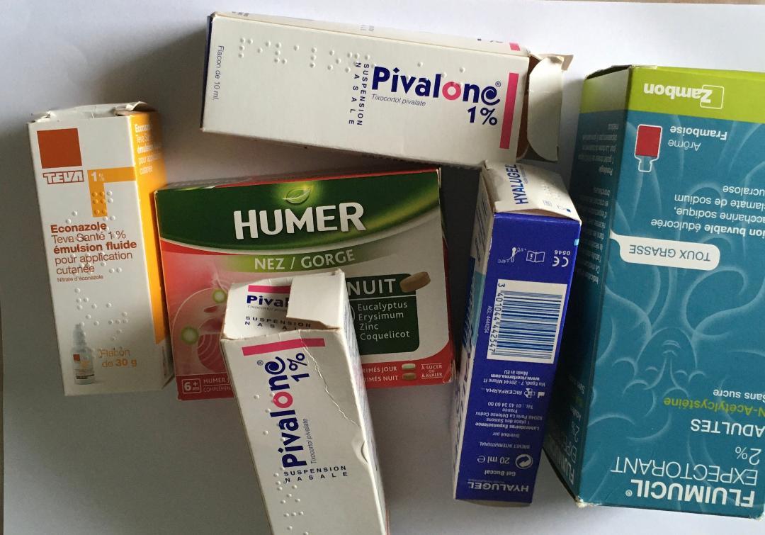 Exemples de médicaments contrefaits (c) Okaigne Henri