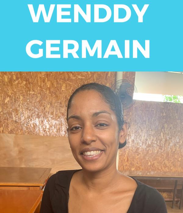 Wendy Germain, maman de Yoram, diagnostiqué autiste à 100%. (c) Nouria Anseur.