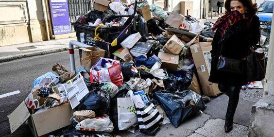 Paris sous les déchets ©Pinterest