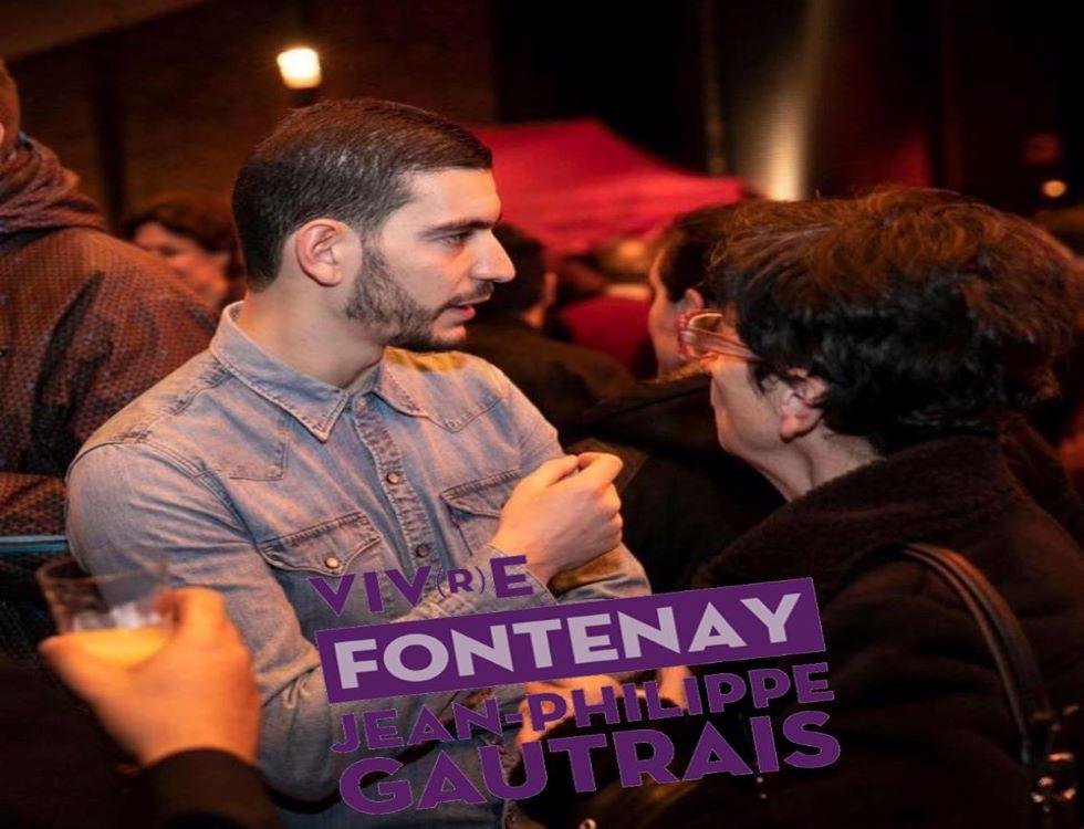 Nassim Lachelache, adjoint au maire à la politique de la ville de Fontenay-Sous-Bois (C) Nassim Lachelache