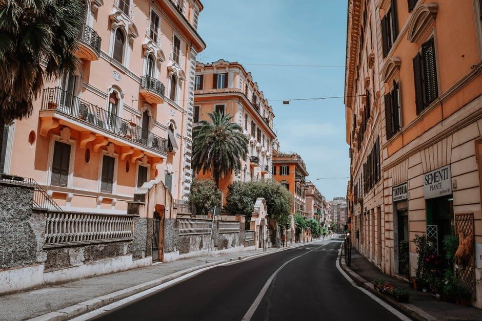 Les rues de Rome se sont vidées comme celles de toute l'Italie depuis le 8 mars. (c) pexels / O. Vunder