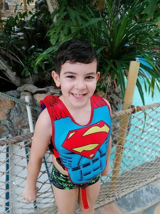 Soan Camara est un petit garçon plein de vie. Malgré sa maladie, il se bat pour vivre comme tous les enfants de son âge © Jennifer Camara