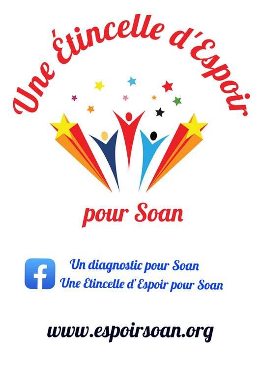 Logo Une étincelle d'espoir pour Soan © Jennifer Camara