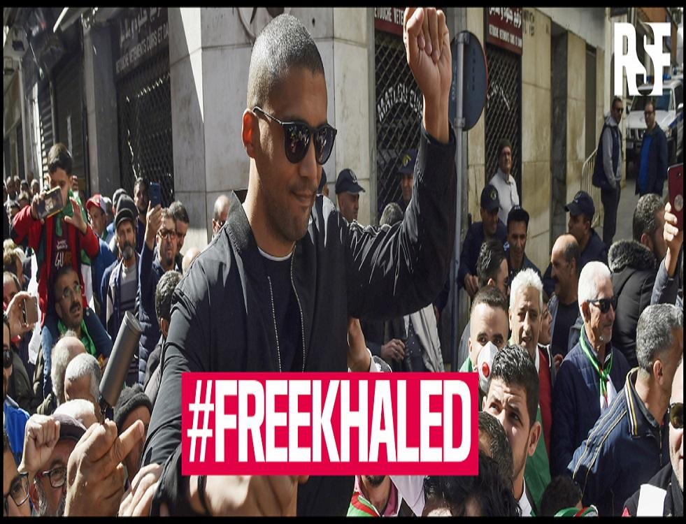 L'ONG Reporters sans frontières dénonce l'incarcération par le régime algérien du journaliste indépendant Khaled Drareni. (c) RSF