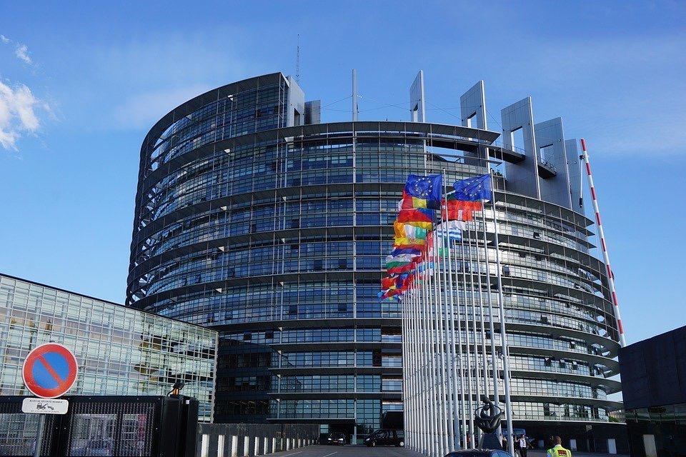 Une vue du Parlement européen à Strasbourg où aurait dû se tenir la Journée de l'Europe (C)Pixabay
