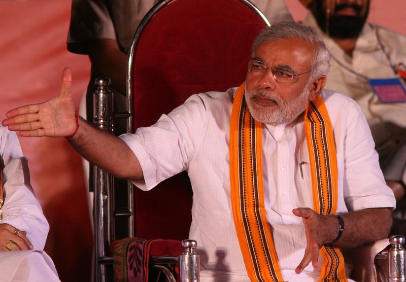 """La liberté de la presse n'est manifestement pas un élément de """"l'hindouité"""" pour le premier ministre indien. (c)Al Jazeera English sur Foter.com / CC BY-SA"""