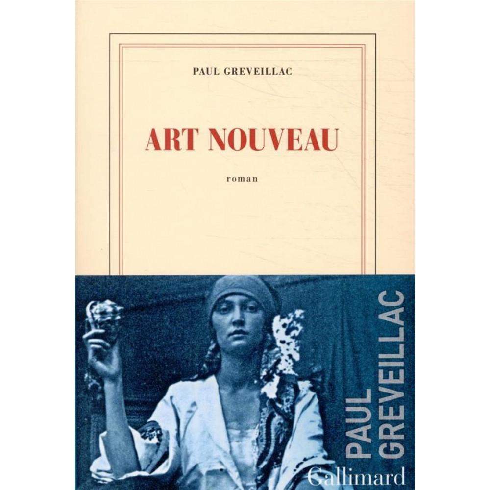 Le troisième roman de Paul Greveillac (c) DR, Art nouveau, est paru en août 2020