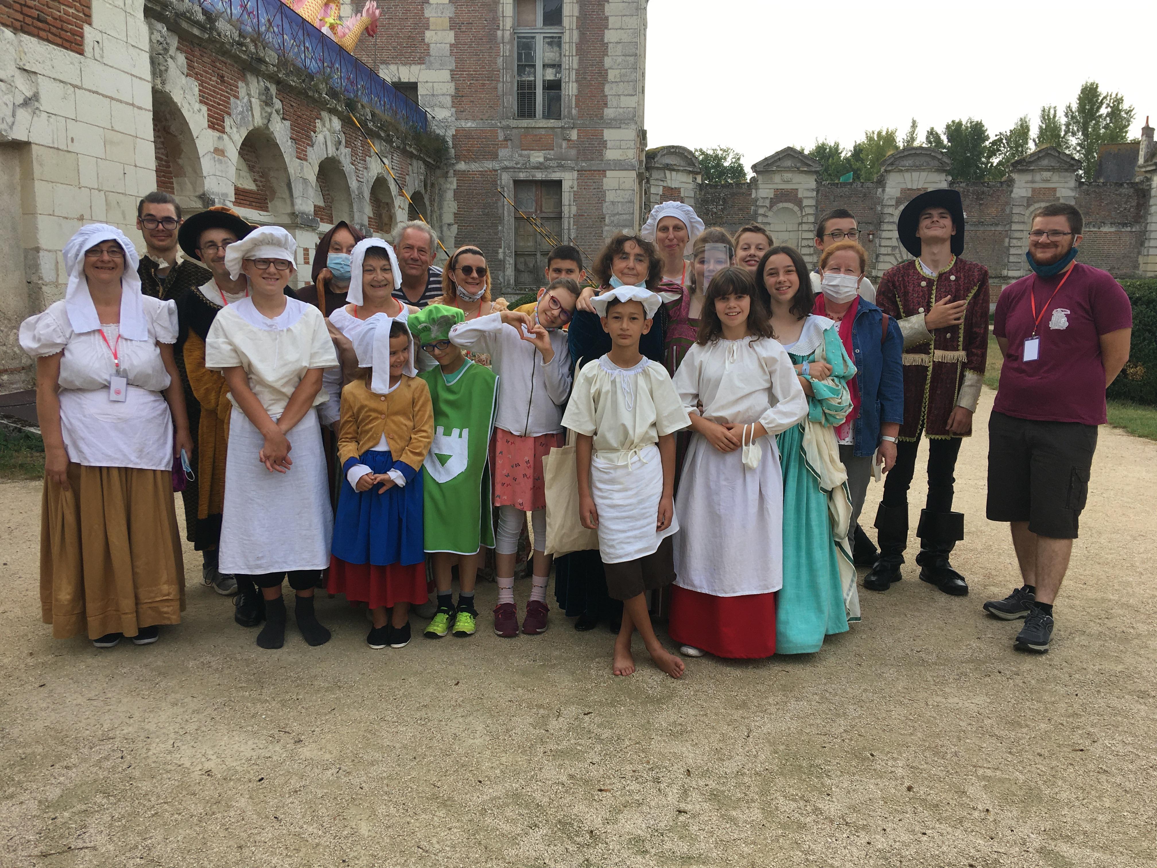 Du théâtre au château de Selles-sur-Cher