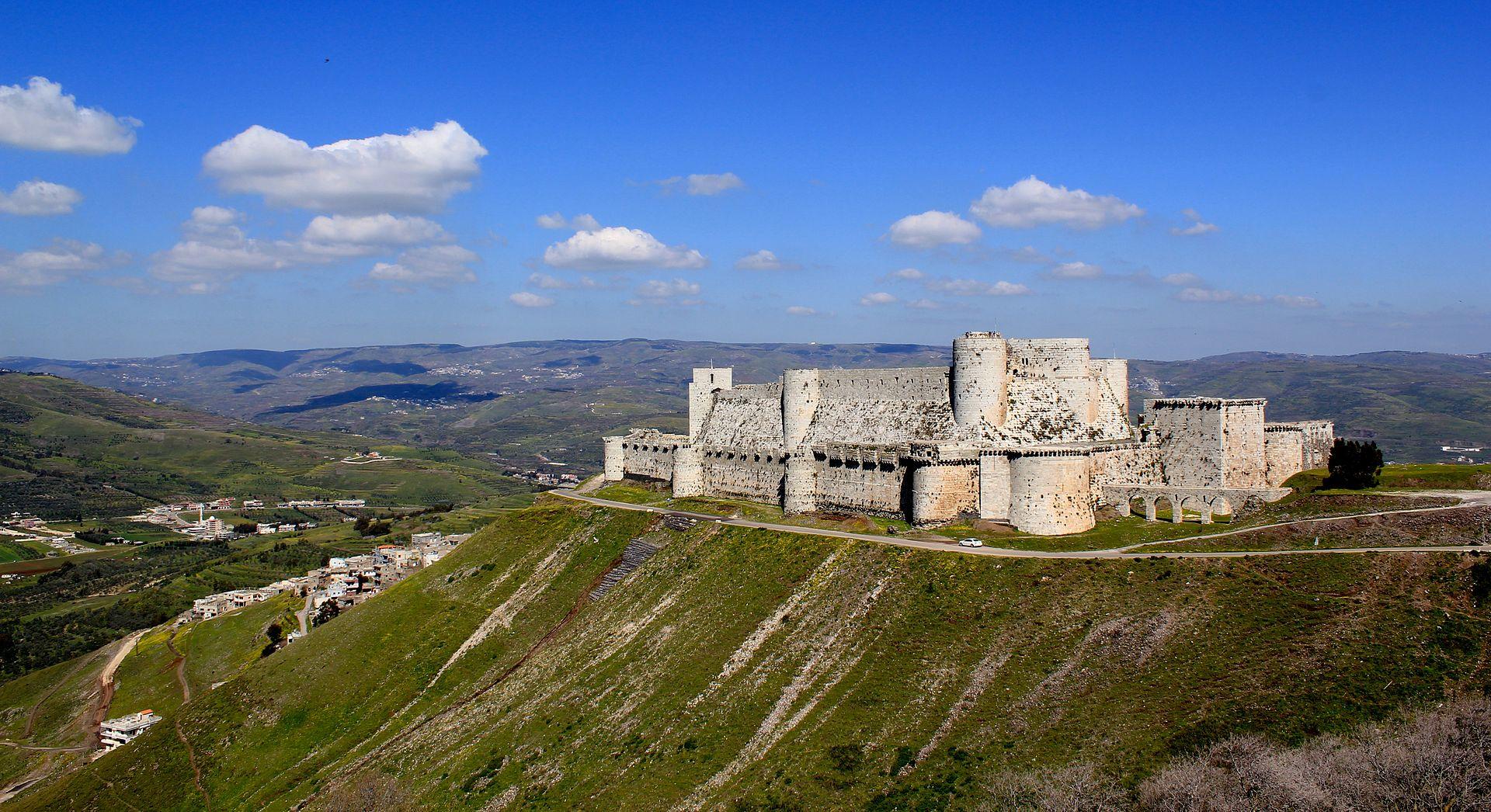 Le Krak hébergeait une garnison de 2 000 hommes et possédait des vivres pour cinq ans au XIIe siècle (c) DR