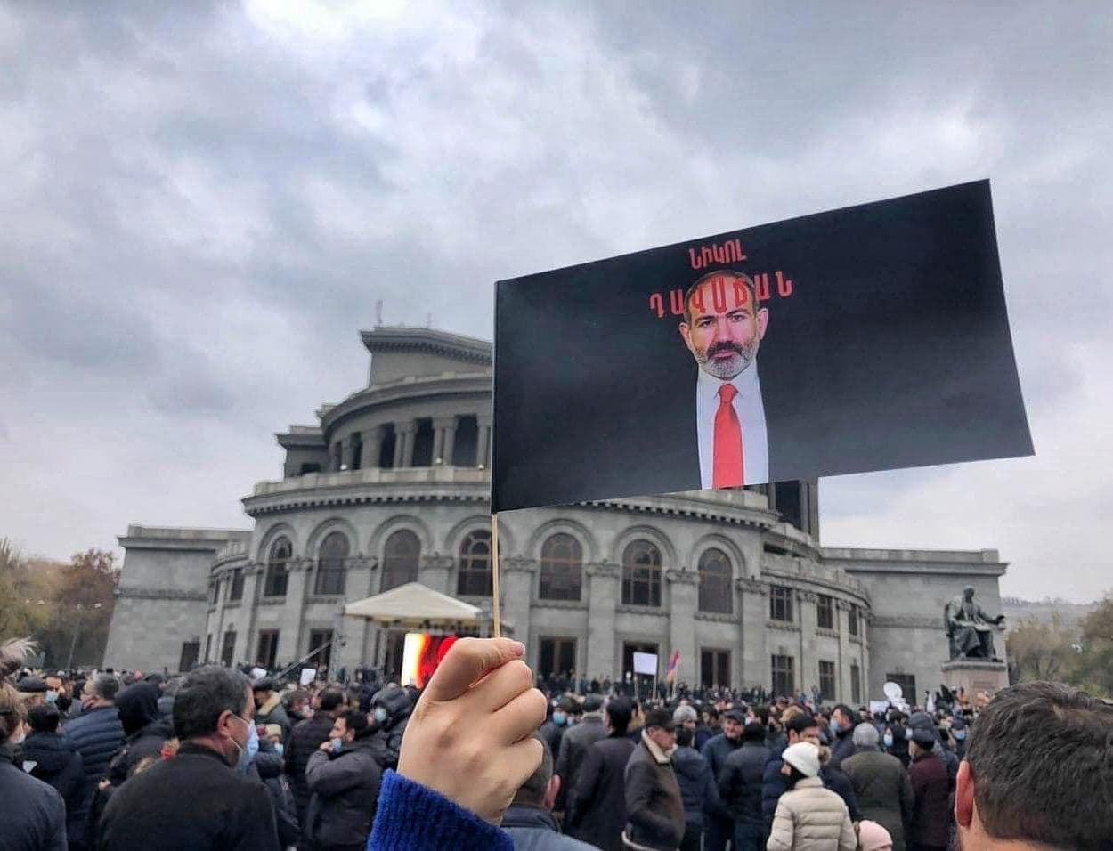 Place de la Liberté à Erévan (c) ArmNews TV
