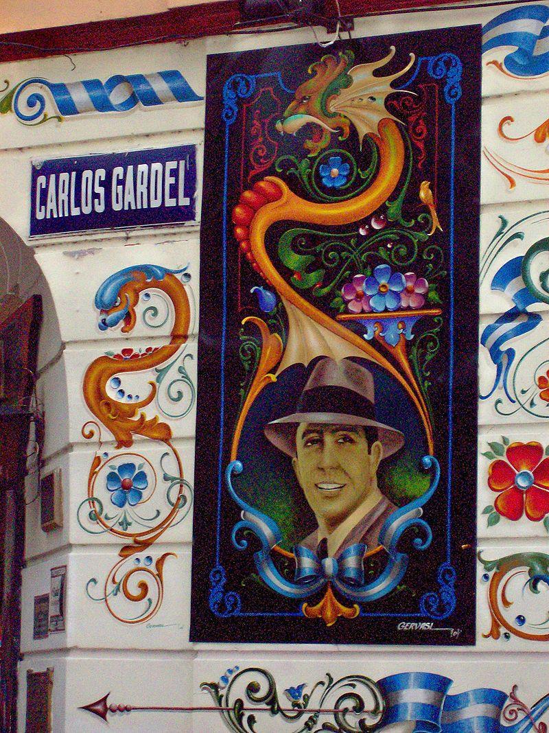 L'œuvre et la voix de Gardel sont classées au registre de Mémoire du monde de l'Unesco depuis 2003 (c) Elvio Gervasi
