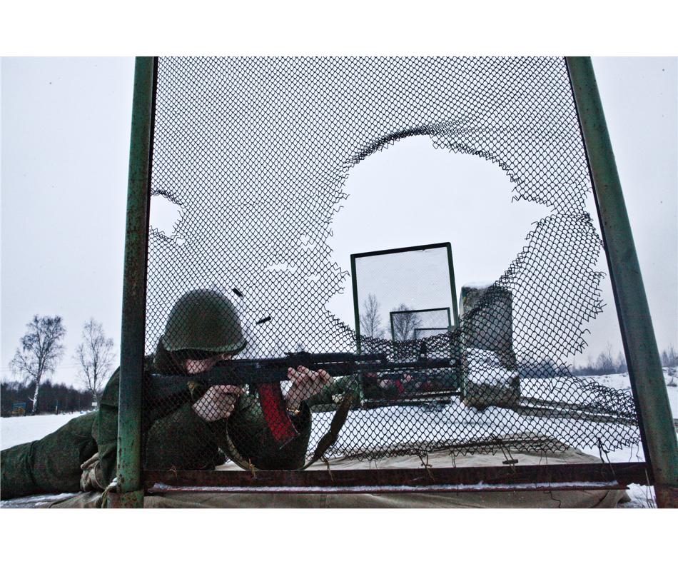 """Extrait de la série """"Young soldiers""""/ © Pavel Volkov"""